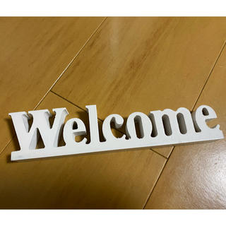 welcomeオブジェ(ウェルカムボード)