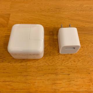アップル(Apple)のアイパッド アイホン純正アダプター(バッテリー/充電器)