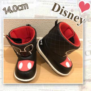 ディズニー(Disney)の14cm ミッキー ディズニー ブーツ(ブーツ)
