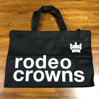 ロデオクラウンズ(RODEO CROWNS)のRODEOCROWNS ロデオクラウンズ ファスナー付き ショッパー(ショップ袋)