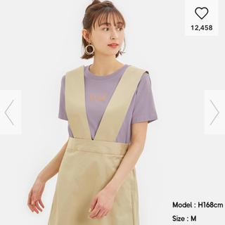 ジーユー(GU)のGU ELLE コラボ Tシャツ 新品未使用(Tシャツ(半袖/袖なし))
