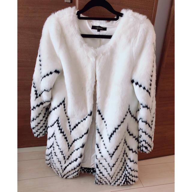 rienda(リエンダ)のrienda ファーコート レディースのジャケット/アウター(毛皮/ファーコート)の商品写真
