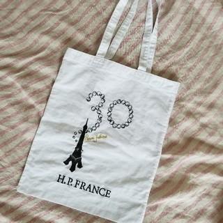 アッシュペーフランス(H.P.FRANCE)のアッシュペーフランス/30thアニバーサリー非売品刺繍トートバッグ(トートバッグ)