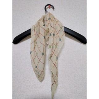 シビラ(Sybilla)のシビラ 絹100%  シフォンスカーフ (バンダナ/スカーフ)