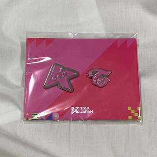 ウェストトゥワイス(Waste(twice))のKCON ピンバッジ TWICE(K-POP/アジア)