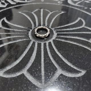 クロムハーツ(Chrome Hearts)のスクロールバンドリング 8号(リング(指輪))
