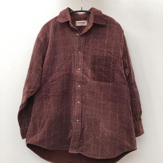 マックレガー(McGREGOR)のマックレガー ブラウン 綿100%(シャツ)