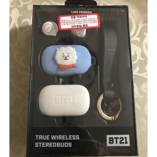 ボウダンショウネンダン(防弾少年団(BTS))の【新品】BT21 公式 Bluetoothワイヤレスイヤホンセット RJ(ヘッドフォン/イヤフォン)