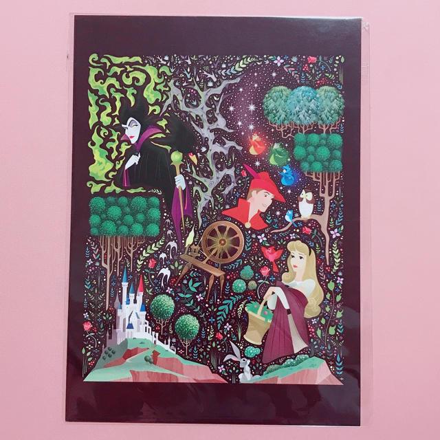 Disney(ディズニー)の【ウォルトディズニーワールド🇺🇸】眠れる森の美女・ビッグポストカード エンタメ/ホビーの声優グッズ(写真/ポストカード)の商品写真