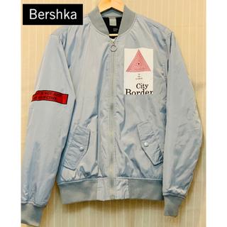 Bershka MA-1 ブルゾン ジャケット グレー 灰色