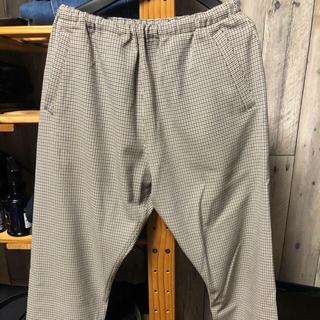 1LDK SELECT - SUNNY SPORTS/サニースポーツ CHECK RELAX PANTS