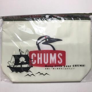 チャムス(CHUMS)のpepsi × CHUMS オリジナル保冷バッグ 白(弁当用品)