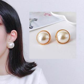 メリージェニー(merry jenny)のvintage pearl earrings ❤︎(イヤリング)
