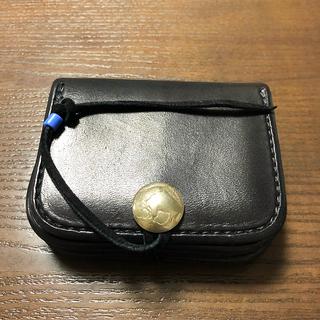 ゴローズ(goro's)の新品 角財布黒美品(コインケース/小銭入れ)