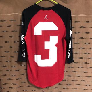 ナイキ(NIKE)の激レア1点物・ジョーダン ・Tシャツ・七分袖(バスケットボール)