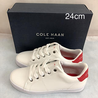 Cole Haan - 未使用 コールハーン スニーカー 赤 24cm COLE HAAN