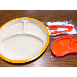 ルクルーゼ(LE CREUSET)のル・クルーゼ はじめての離乳食セット ランチプレートのセット(離乳食器セット)