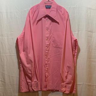 ジョンローレンスサリバン(JOHN LAWRENCE SULLIVAN)の70年代シャツ 70s 70年代 サイケデリック ピンク(シャツ)