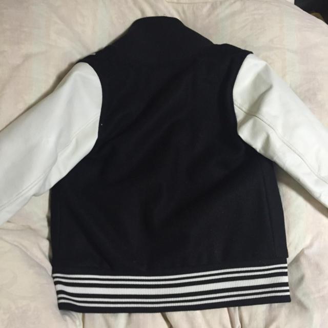 HALFMAN(ハーフマン)の袖が革のスタジャン💕💕 レディースのジャケット/アウター(スタジャン)の商品写真