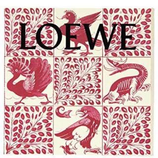 ロエベ(LOEWE)のSPUR 1月号付録 LOEWE シール付きアート&ノートセット(ノート/メモ帳/ふせん)