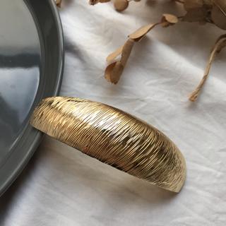 ビューティアンドユースユナイテッドアローズ(BEAUTY&YOUTH UNITED ARROWS)のmetal barrette -gold-(バレッタ/ヘアクリップ)