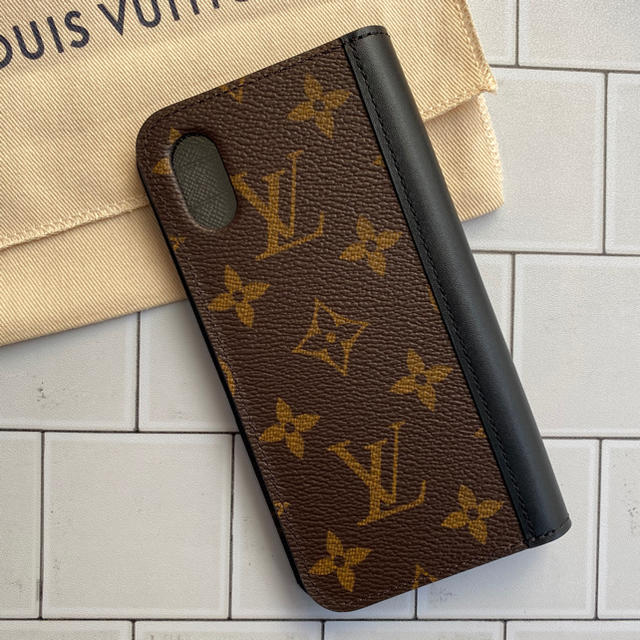 LOUIS VUITTON - 《新品》ルイヴィトン IPHONE X & XS・ケース モノグラム フォリオの通販
