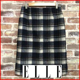エル(ELLE)のELLE エル サイズ36 スカート 古着屋てぃだ[I0014](ひざ丈スカート)