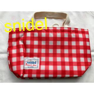 スナイデル(snidel)の【✴︎未使用✴︎】スナイデル snidel 保冷バッグ ランチバッグ(弁当用品)