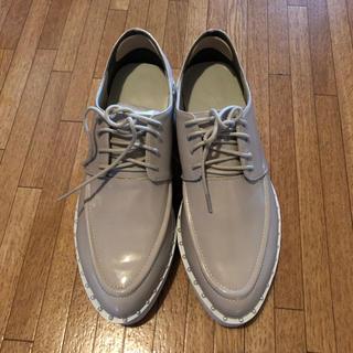メリージェニー(merry jenny)のパール付き厚底シューズ(ローファー/革靴)