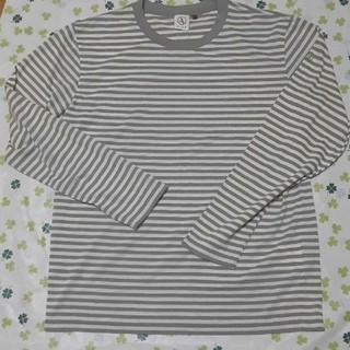 エーグル(AIGLE)のAIGLEボーダーロンT(Tシャツ/カットソー(七分/長袖))