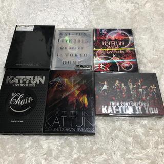 ジャニーズ(Johnny's)のみき☆様専用 KAT-TUN LIVE DVD 6本(ミュージック)
