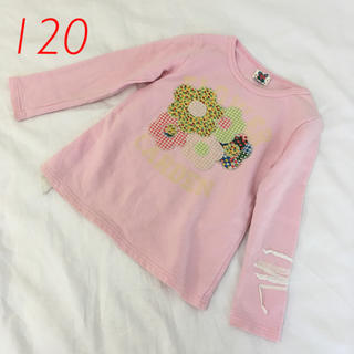 バナバナ(VANA VANA)のVANAVANA  アップリケトレーナー  120(Tシャツ/カットソー)