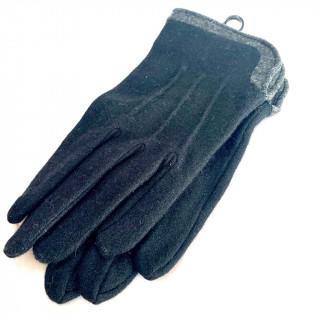 クロエ(Chloe)の新品 メンズ 手袋 クロエ ブラック 黒色 23-24cm(手袋)