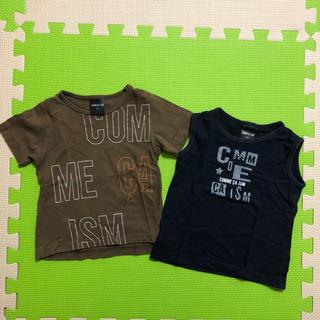 コムサイズム(COMME CA ISM)のCOMME CA ISM☆Tシャツ、タンクトップ 2枚セット(Tシャツ/カットソー)