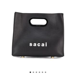 サカイ(sacai)のsacai ロゴバック(ハンドバッグ)