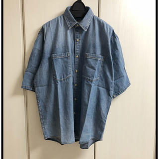 アングリッド(Ungrid)の新品 ハーフスリーブデニムシャツ(シャツ/ブラウス(半袖/袖なし))