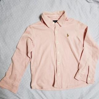 ポロラルフローレン(POLO RALPH LAUREN)のラルフローレン ピンクシャツ(Tシャツ/カットソー)