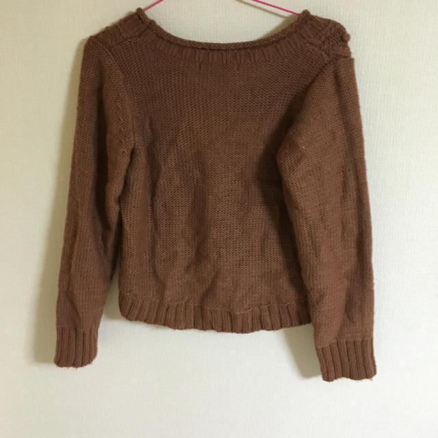 PAGEBOY(ページボーイ)のブラウンのニット☆ レディースのトップス(ニット/セーター)の商品写真