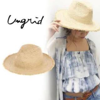 アングリッド(Ungrid)の麦わらハット(ハット)