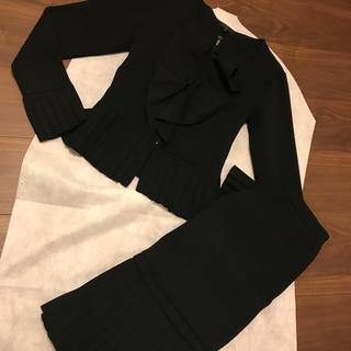 トゥービーシック(TO BE CHIC)のTO BE CHIC ブラック セットアップ スーツにも サイズⅡ(スーツ)