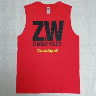 ズンバ(Zumba)の去年購入ZW-Zumba For All Muscle タンクトップ赤(タンクトップ)