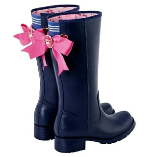 セーラームーン(セーラームーン)の【台湾限定品】Gracegift×セーラームーンクリスタル 雨靴(ブーツ)