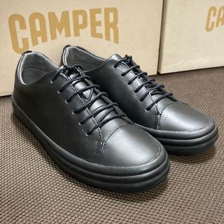 カンペール(CAMPER)の新品 Camper Hoops カンペール フープス レザースニーカー ブラック(スニーカー)