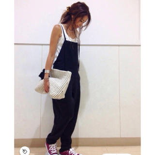 TODAYFUL - CANAL JEAN/RED CHOP WORKS♡テンセルサロペット