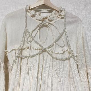Ameri VINTAGE - 期間限定値下げ中♡ pearl harness パールハーネス ハーネスベルト