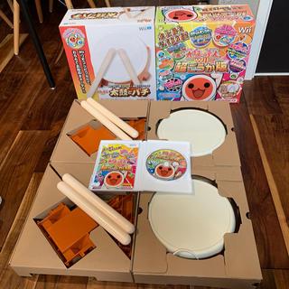 ウィー(Wii)の太鼓の達人Wii 超ごうか版(同梱版)+ 追加太鼓とバチセット(家庭用ゲームソフト)