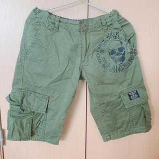 チャビーギャング(CHUBBYGANG)のChubby gang ハーフズボン サイズ160センチ ハーフパンツ(パンツ/スパッツ)