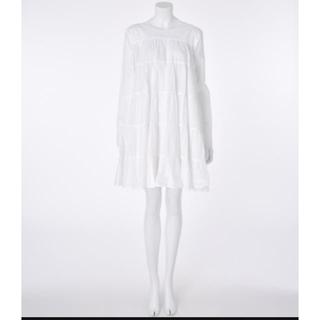 ロンハーマン(Ron Herman)の【MERLETTE】マーレット ワンピース SOLIMAN  White XS(ひざ丈ワンピース)