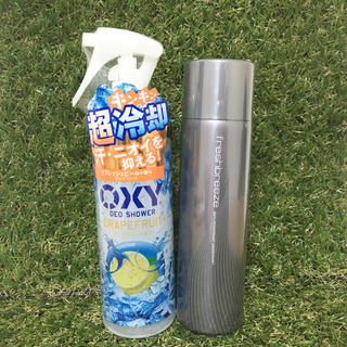 OXY冷却デオシャワー&デオドラントスプレー(制汗/デオドラント剤)