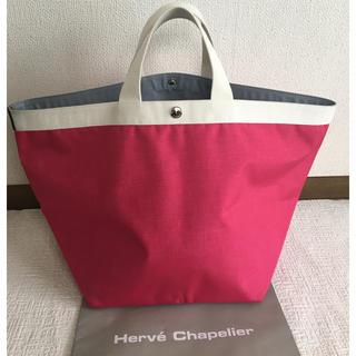 エルベシャプリエ(Herve Chapelier)の美品 エストネーション別注 エルベシャプリエ 725 Lサイズ フーシャ(トートバッグ)
